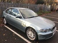 2002 BMW 318 Ti Compact. Immaculate MOT. TAX. LOW MILES LEATHER. 79,000 Superb Hatchback