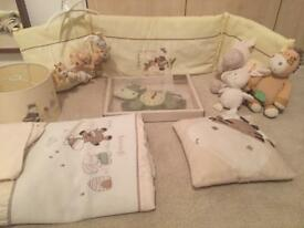 Mamas and Papas Zeddy & Parsnip nursery bundle