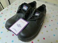 HIMALAYAN SAFETY SHOES BLACK SIZE 10