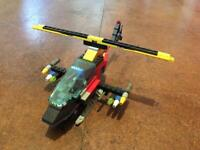 LEGO helicopter DIY toy