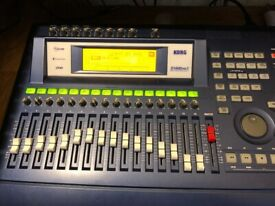 KORG D1600 MK 2 MULTITRACK RECORDER WITH D1600 MANUAL AND POWER LEAD