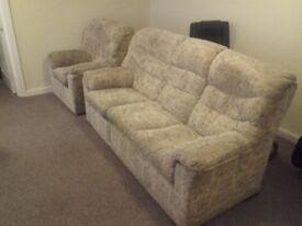 G Plan Sofa and Arm Chair