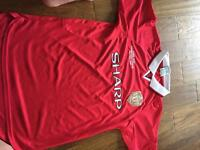 Manchester United 1999 champions league final top size M