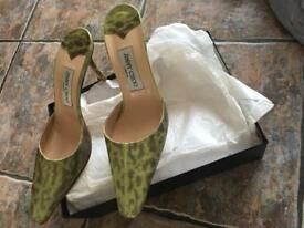 Jimmy Choo Snakeskin High Heels Size 38 and a half