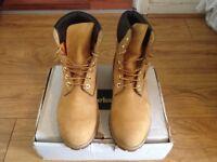 Timberland Boots (Tan) size 9.5 £120
