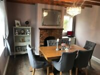 Dining Table and six chaira