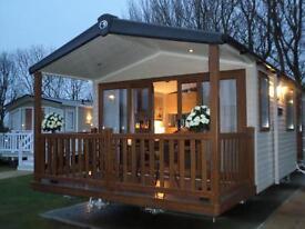 HAGGERSTON CASTLE caravan rent/hire 29-1st NOV