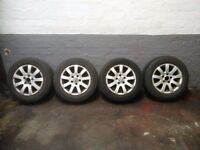 VW GOLF ALLOYS AND TYRES 5 X 112