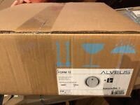 Alveus form 10 round stainless steel sink (45cm) new still in box