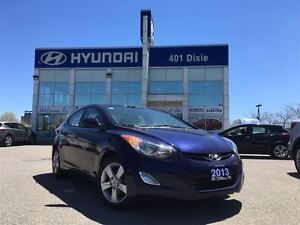 2013 Hyundai Elantra GLS AUTO|SUNROOF|ALLOYS|BLUETOOTH|
