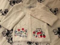 Girls Knitted Cardigan.