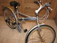 """DAHON ESPRESSO FOLDING BIKE - 26"""" - COMPLETE WITH CARRYBAG - VERY NICE CONDITION"""