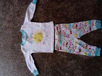 Cute baby girl pajamas 6-9 months