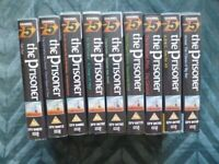 """Complete set of VHS tapes of """" The Prisoner """" iconic 1960's TV series - Rare."""