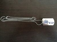 MAKE AN OFFER - Ministry Of Sound VIP Club Dog Tags