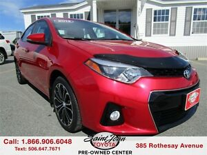 2014 Toyota Corolla S with Sunroof + Alloys $142.89 BIWEEKLY!!!
