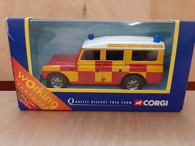LAND ROVER SIII 109 SW - CJ57905 LEICESTERSHIRE FIRE & RESCUE - MIB - HTF NOW