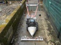 Sickle Bar Mower/power scythe/ Rough grass cutter/ 2 wheeled tractor/finger bar mower