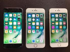 iPhone 6 16GB EXCELLENT CONDITION Available in Space Grey, Silver, Gold