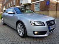 AUDI A5 2.0 TDI SPORT AUDI SERVICE HISTORY LEATHER SEATS HEATED SEATS 12 MONTH MOT PERFECT CONDITION