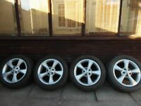 "Jaguar Volvo Ford 17"" alloy alloys wheels 5x108"