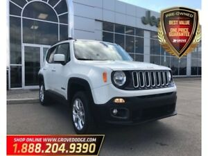 2016 Jeep Renegade North| 4X4| Cloth| Low KM| Remote Start