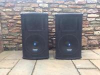 Mackie SA1521 active speakers (pair)