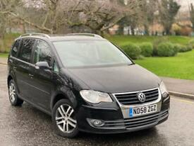 2008(58) Volkswagen Touran 2.0 TDI SE 7 Seater Full Service History +Not Ford VW Golf Audi
