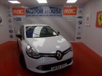 Renault Clio (DYNAMIQUE NAV 16V) FREE MOT'S AS LONG AS YOU OWN THE CAR!!! (white) 2016