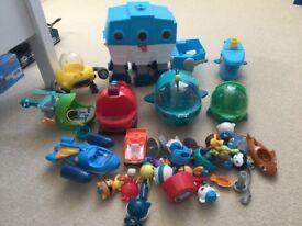 Octonauts toys- large bundle