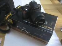 Nikon D D3100 14.2MP Digital SLR Camera - Black (Kit w/ VR 18-55mm Lens) - Boxed with Carry Case