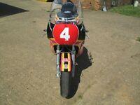 Suzuki XR69 REPLICA , Graham Crosby replica Parade, Track Bike. racebike