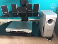 Panasonic Home Theatre Sound System with DVD player