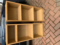 *** NOW SOLD *** Ikea bedside cabinet and two small book cases *** NOW SOLD
