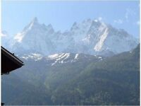 Skiing at Christmas £400 20-27, Jan 14-20 £400 Fantastic city center apartment in Chamonix Alps