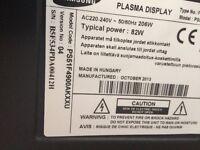 Samsung plasma 51 inch excellent condition 600 Ono collection le3