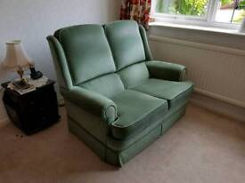 Parker Knoll sofa and chair.