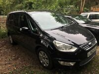 2013 (63) Ford Galaxy DIESEL AUTOMATIC 2.0 TDCi 140 Zetec PowerShift 7 Seater MPV - 85,000 miles FSH
