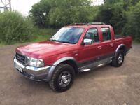 2005 FORD RANGER WILD TRAK VERY GOOD TRUCK 4X4 NO VAT