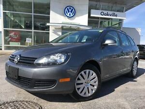 2013 Volkswagen Golf Wagon TL/HEATED SEATS/1 OWNER!