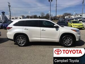 2015 Toyota Highlander XLE AWD HEATED BLACK LEATHER NAV--ROOF