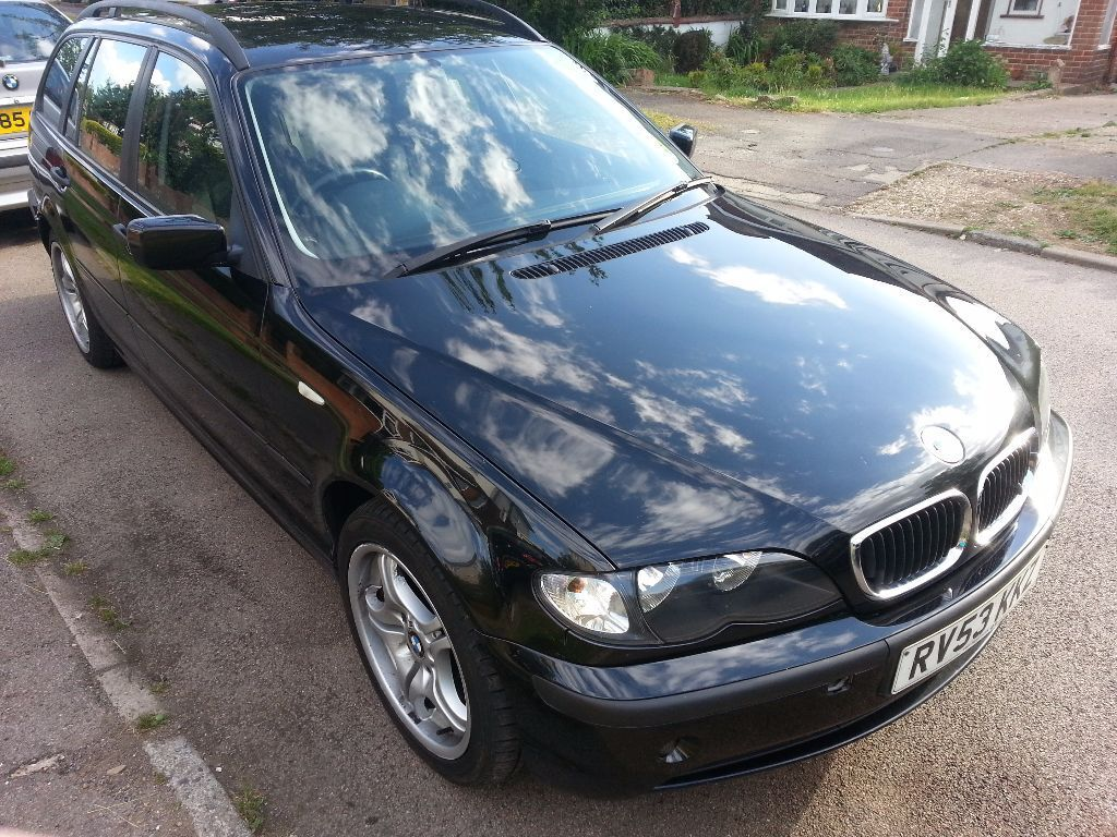 2003 bmw 318i se touring black in bletchley. Black Bedroom Furniture Sets. Home Design Ideas