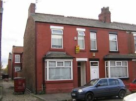 4 bed terraced house - BRAEMAR ROAD - double bedrooms - Academic Year 2017/18