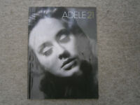Adele 21 Piano music Songs from the CD