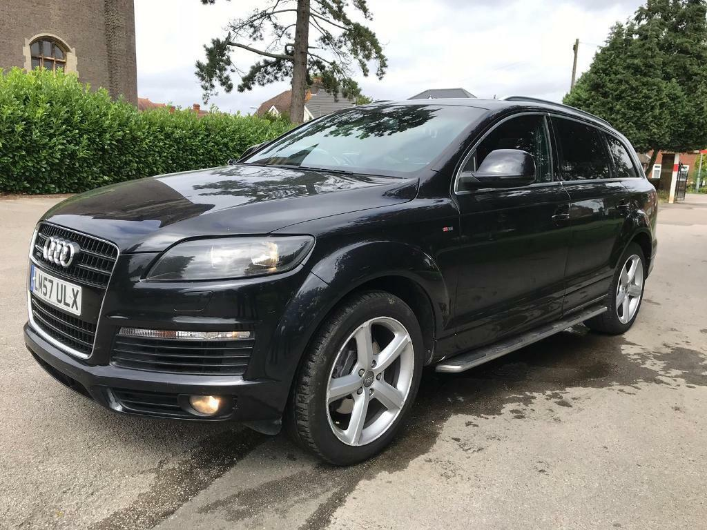 AUDI Q7-S LINE-3 0 QUATTRO-PANORAMIC SUNROOF-7  SEATER-DIESEL-AUTOMATIC-2008-START LOOKS DRIVE MINT | in Luton,  Bedfordshire | Gumtree