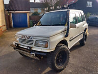 1996 SUZUKI VITARA JLX 5 DOOR LWB 4X4 OFF ROADER