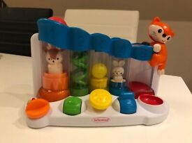 Infantino Sensory Ball Drop Piano plus present