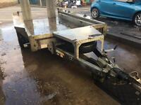 Ifor Williams plant trailer 10x5