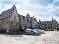 Two bedroom flat with parking in exclusive Barracks Square