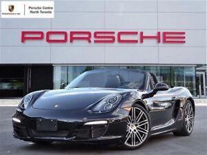 2016 Porsche Boxster BLACK EDITION, UNLIMITED KM WARRANTY